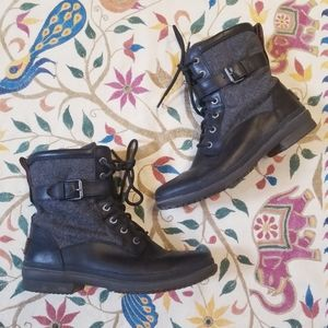 Ugg Leather Casual Boots